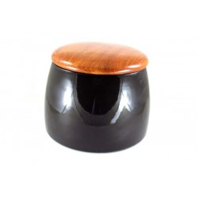 Pot Arcadia en ceramique et palissandre