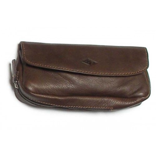MPB Ox leather pouch for pipe, tobacco and accessories - Brown