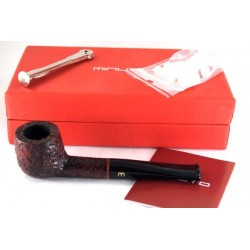 Minuto by Savinelli - straight brown rusticated