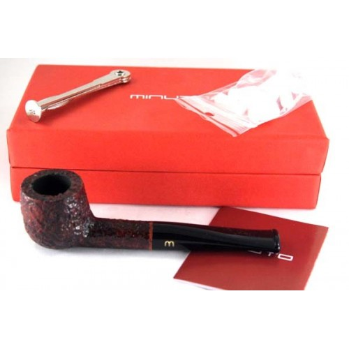 Minuto by Savinelli Billiard rusticada marrón
