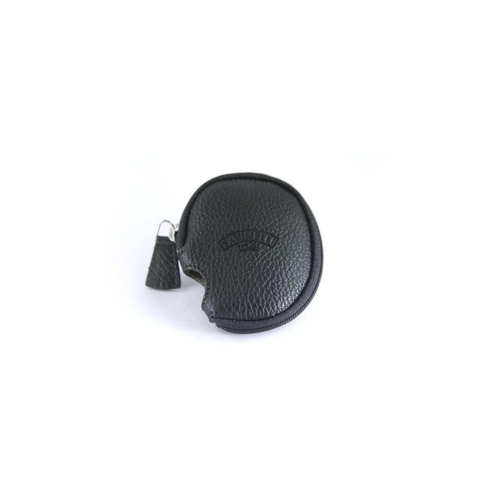 Couverture Savinelli en cuir - Noir