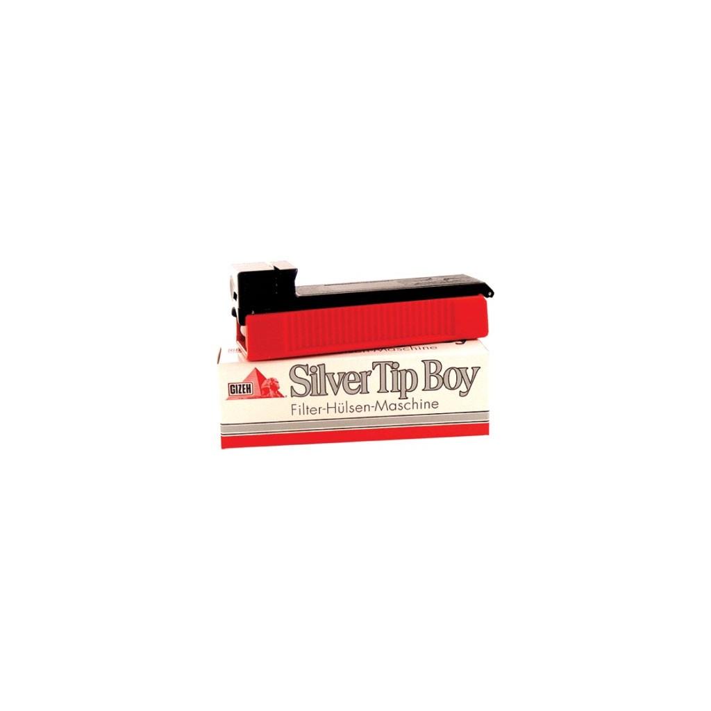 Macchinetta riempi tubi Gizeh Silver Tip Boy