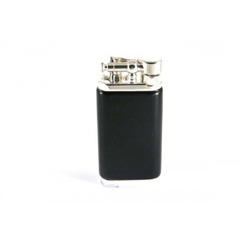 Savinelli Old Boy pipe lighter - black acrylic