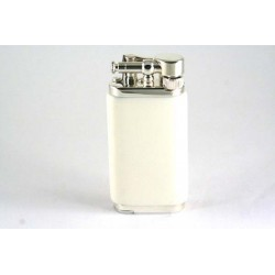 Savinelli Old Boy pipe lighter - white acrylic