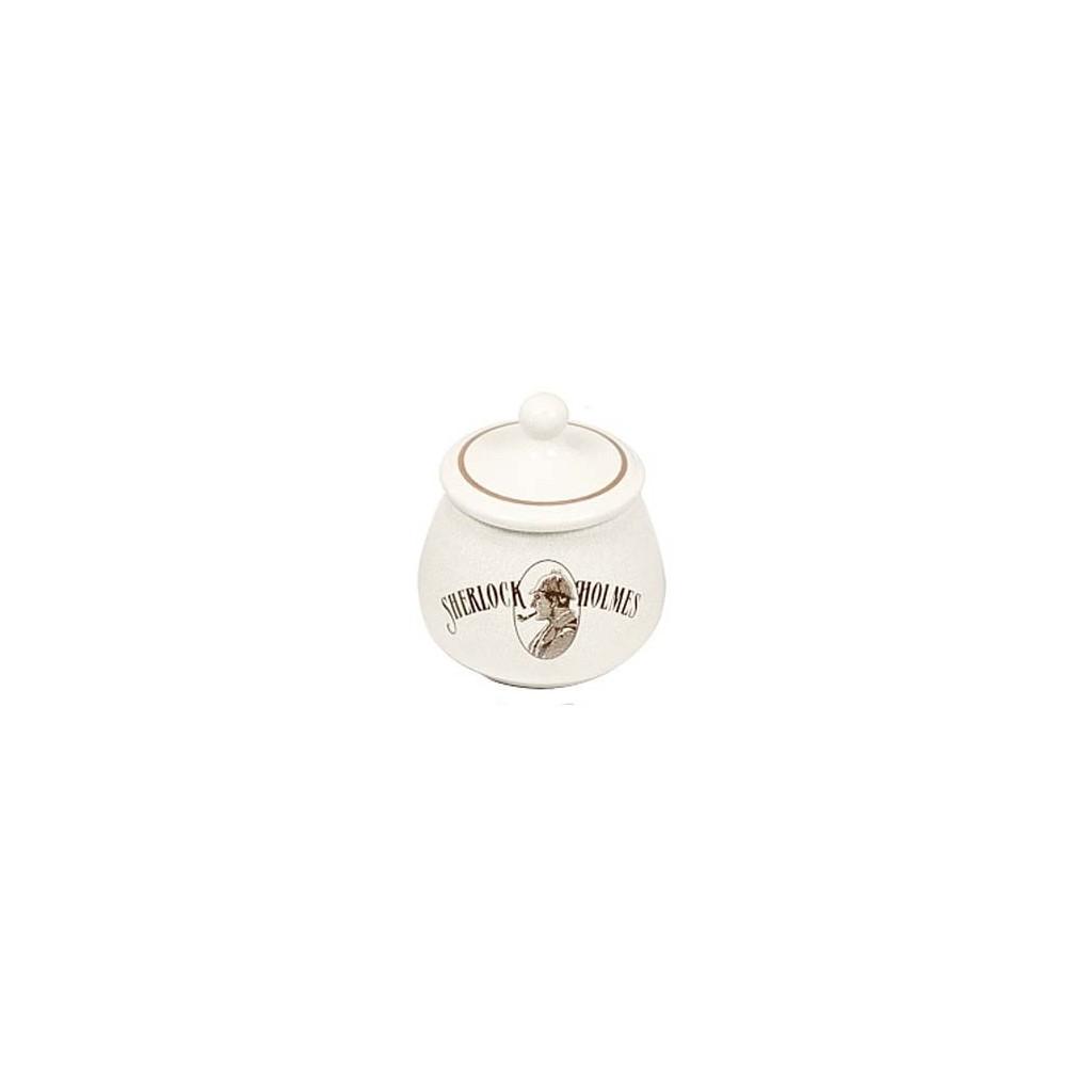 S.Holmes Ceramic Tobacco jar - craquelè