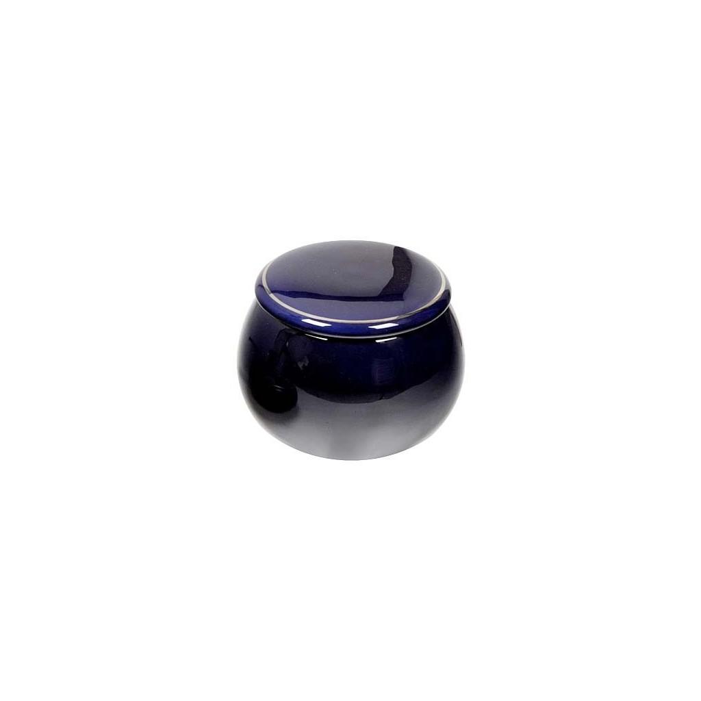 "Blue Ceramic Tobacco jar ""Ball"""