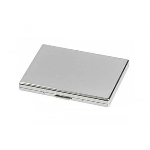 Cigarette case 1 row chrome plated