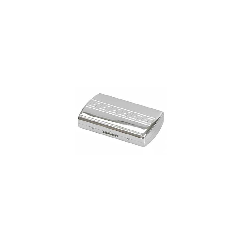 """Cigarette case """"soap"""" chrome plated - greak design"""