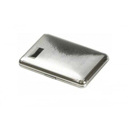 "Cigarette case ""soap"" chrome plated - barley"