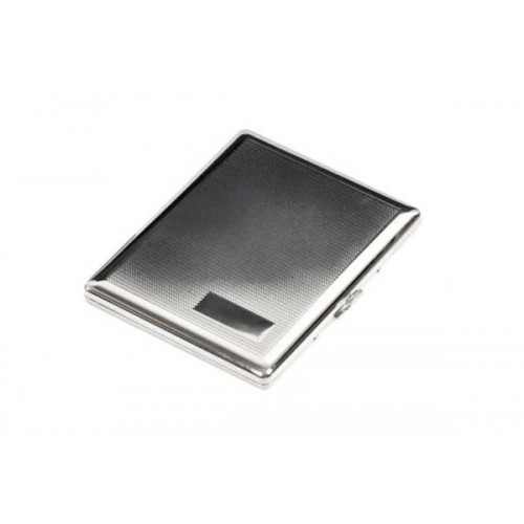 Cigarette case 100s chrome plated - barley