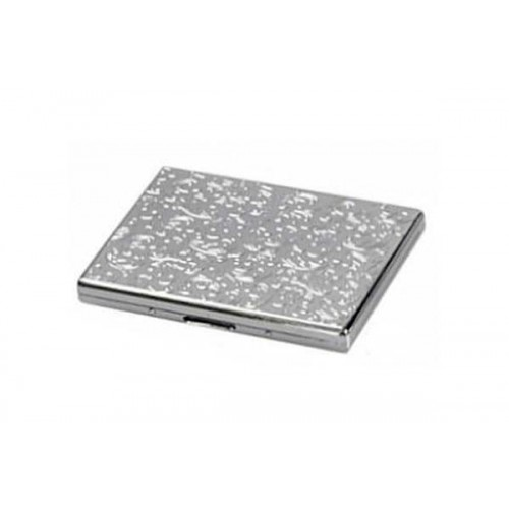 Cigarette case 1 row chrome plated - venetian