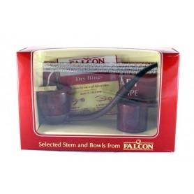 Falcon cofrecito regalo, Bent maron boquilla y 2 cabeza