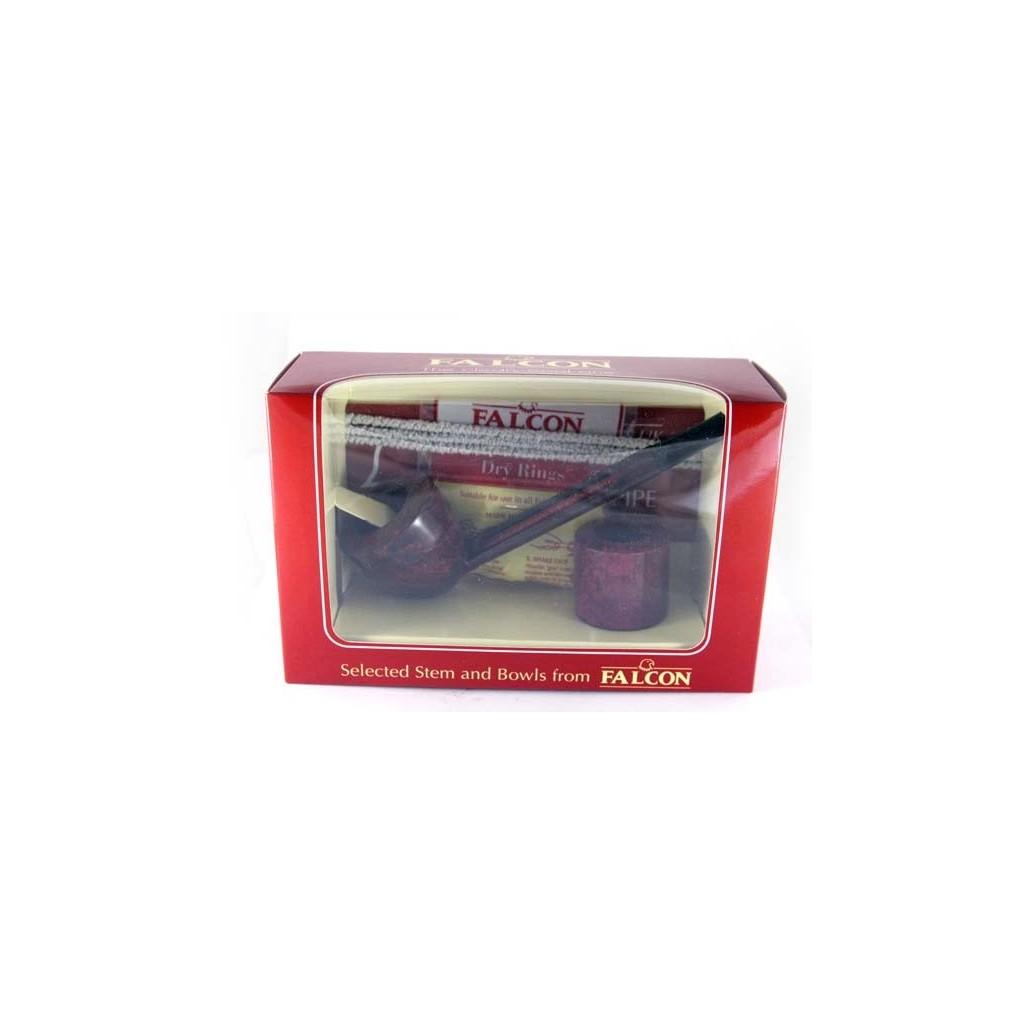 Falcon cofrecito regalo, Straight maron boquilla y 2 cabeza