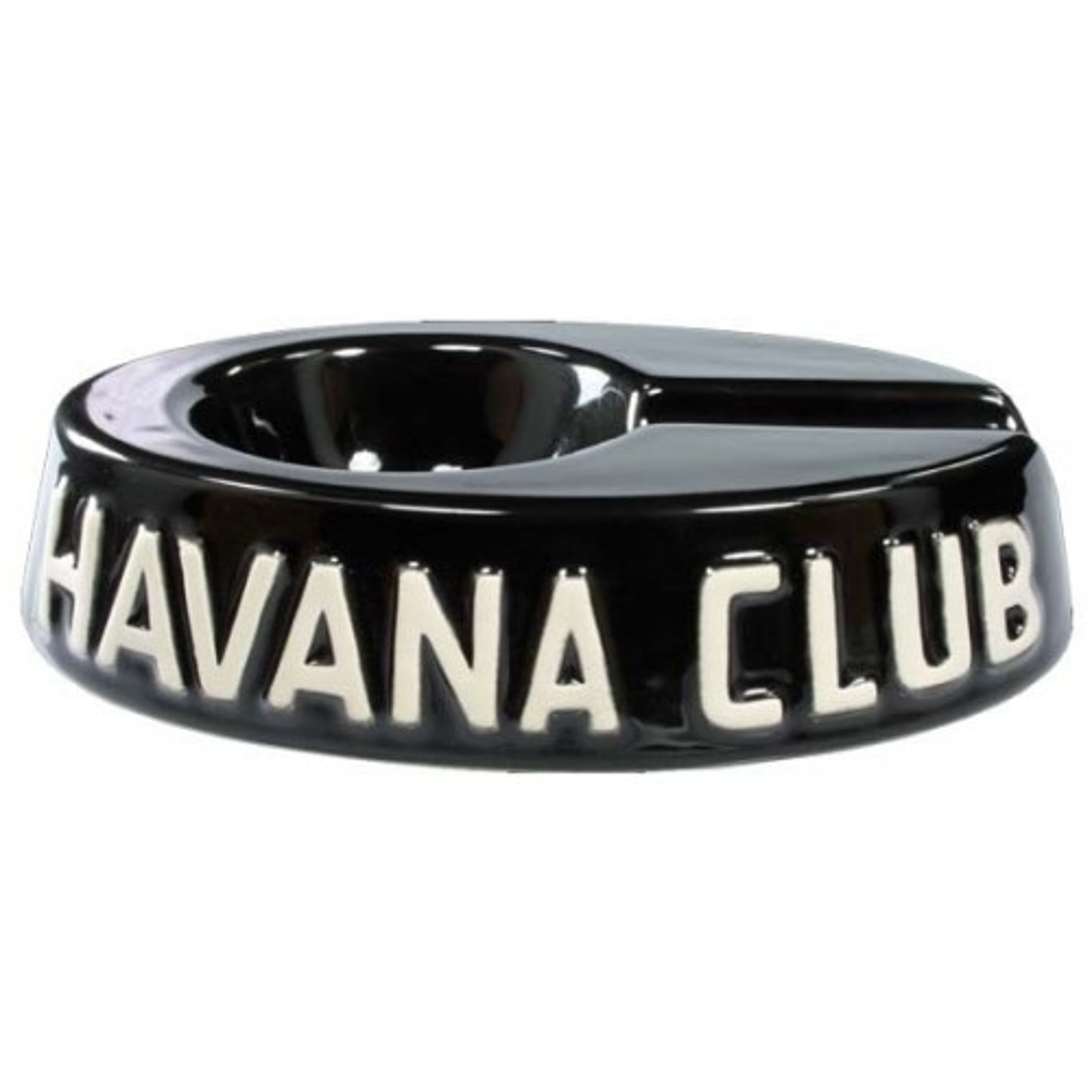 """Ceniceros por cigarro Havan Club """"El Egoista"""" en cerámico - Ebony Black"""