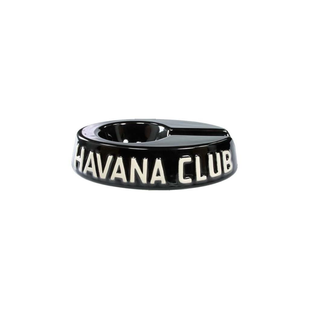"Havan Club ""El Egoista"" ceramic cigar ashtray - Ebony black"