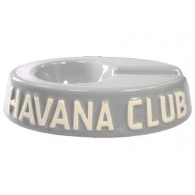 """Posacenere da tavolo Havana Club """"El Egoista"""" in ceramica - Grigio madre perla"""