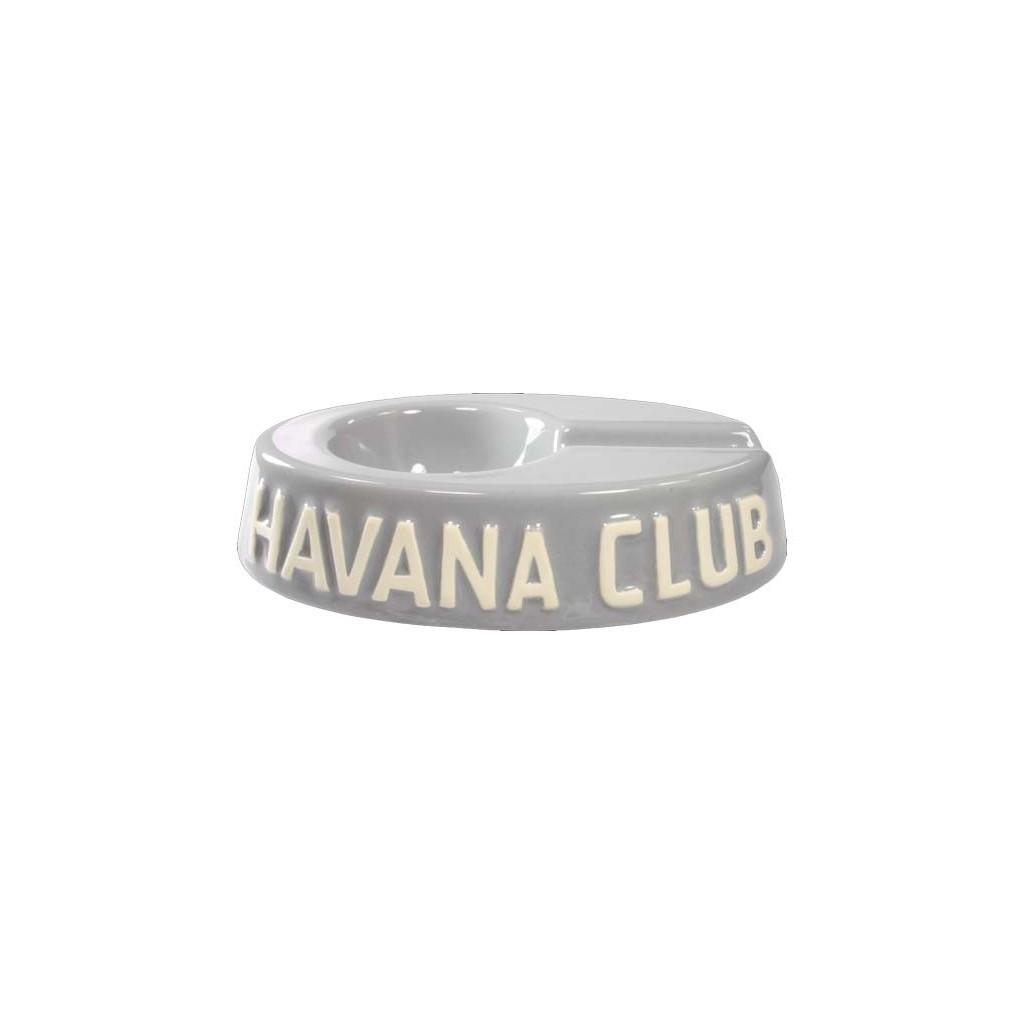 """Posacere da tavolo Havana Club """"El Egoista"""" in ceramica - Grigio madre perla"""