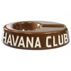 """Posacenere da tavolo Havana Club """"El Egoista"""" in ceramica - Marrone Havana"""
