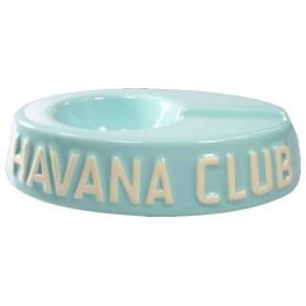 """Cendrier pour cigare Havana Club """"El Egoista"""" de céramique - Carribean Blue"""