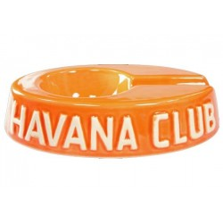 "Havan Club ""El Egoista"" ceramic cigar ashtray - Madarine Orange"