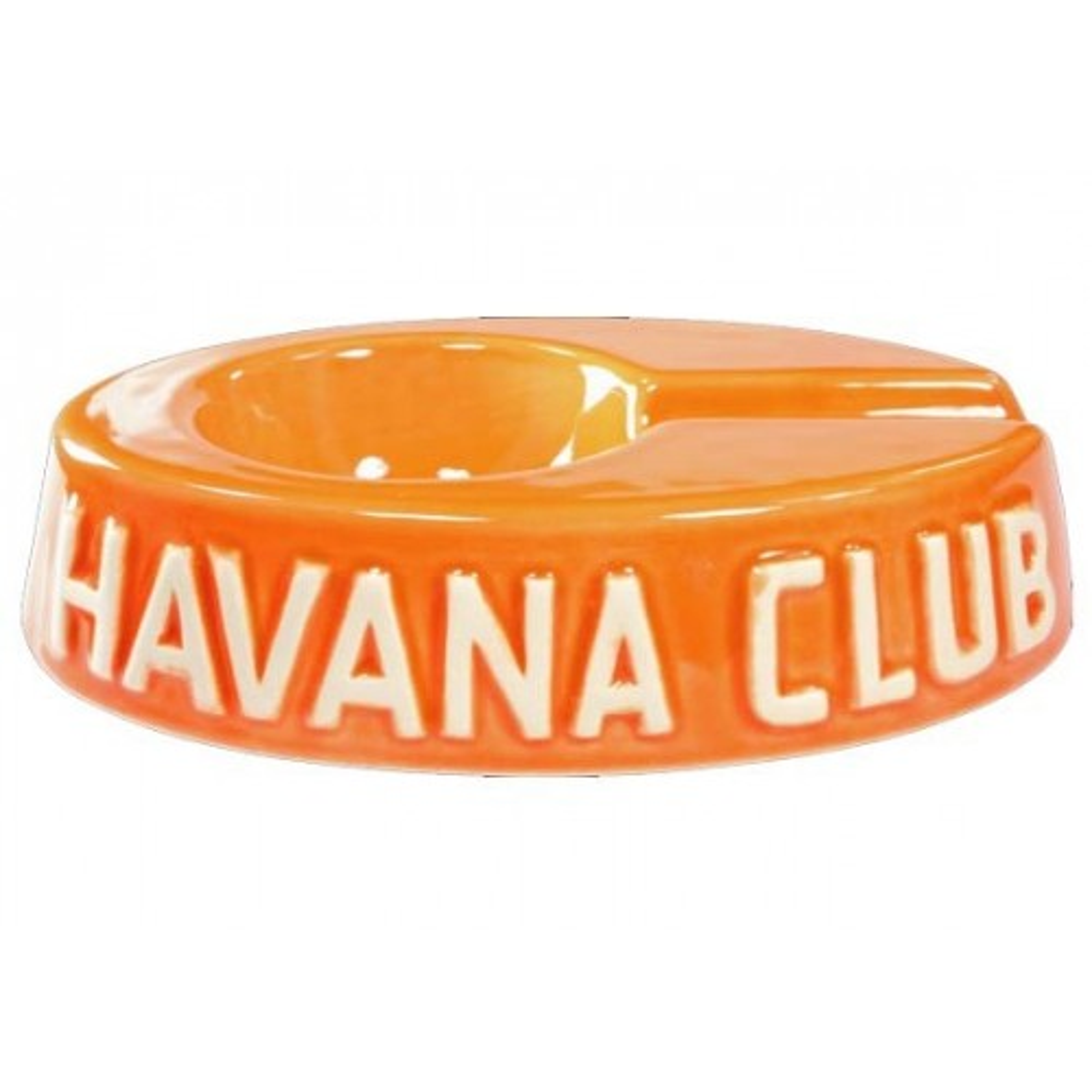 """Ceniceros por cigarro Havan Club """"El Egoista"""" en cerámico - Madarine Orange"""