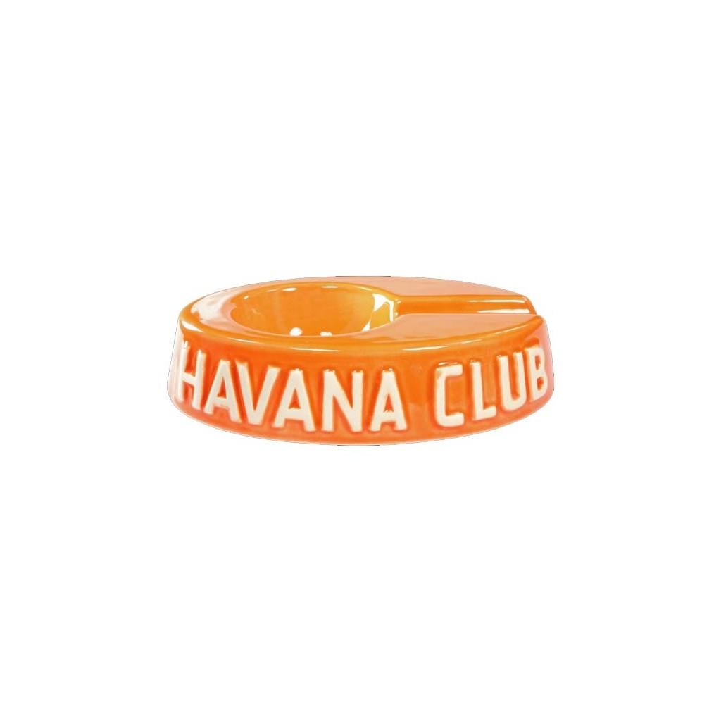 "Havan Club ""El Egoista"" ceramic cigar ashtray - Madarine Orange"