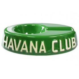 """Ceniceros por cigarro Havan Club """"El Egoista"""" en cerámico - Fennel Green"""