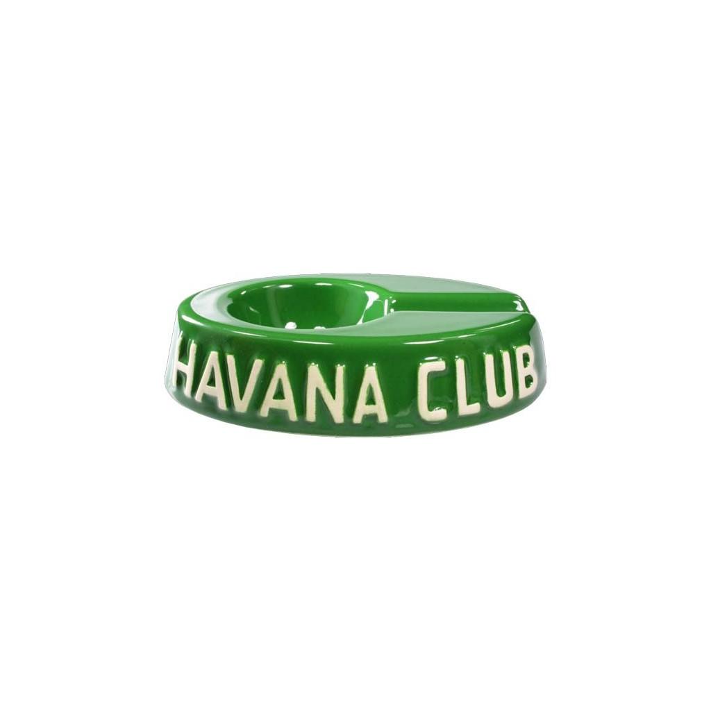 "Cendrier pour cigare Havana Club ""El Egoista"" de céramique - Fennel Green"