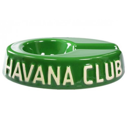 "Havan Club ""El Egoista"" ceramic cigar ashtray - Fennel Green"