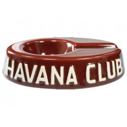 "Havan Club ""El Egoista"" ceramic cigar ashtray - Bordeaux"