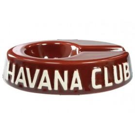 """Posacenere da tavolo Havana Club """"El Egoista"""" in ceramica - Bordeaux"""
