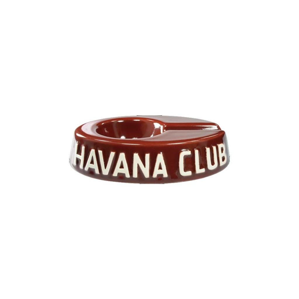 """Havan Club """"El Egoista"""" ceramic cigar ashtray - Bordeaux"""