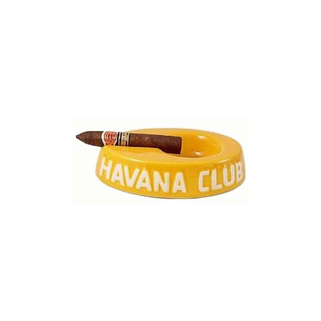"""Cendrier pour cigare Havana Club """"El Egoista"""" de céramique - Lime Yellow"""