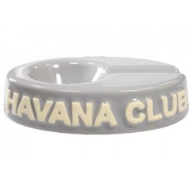 "Posacenere da tavolo Havana Club ""El Chico"" in ceramica - Grigio madreperla"