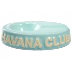 "Cendrier pour cigare Havana Club ""El Chico"" de céramique - Carribean Blue"