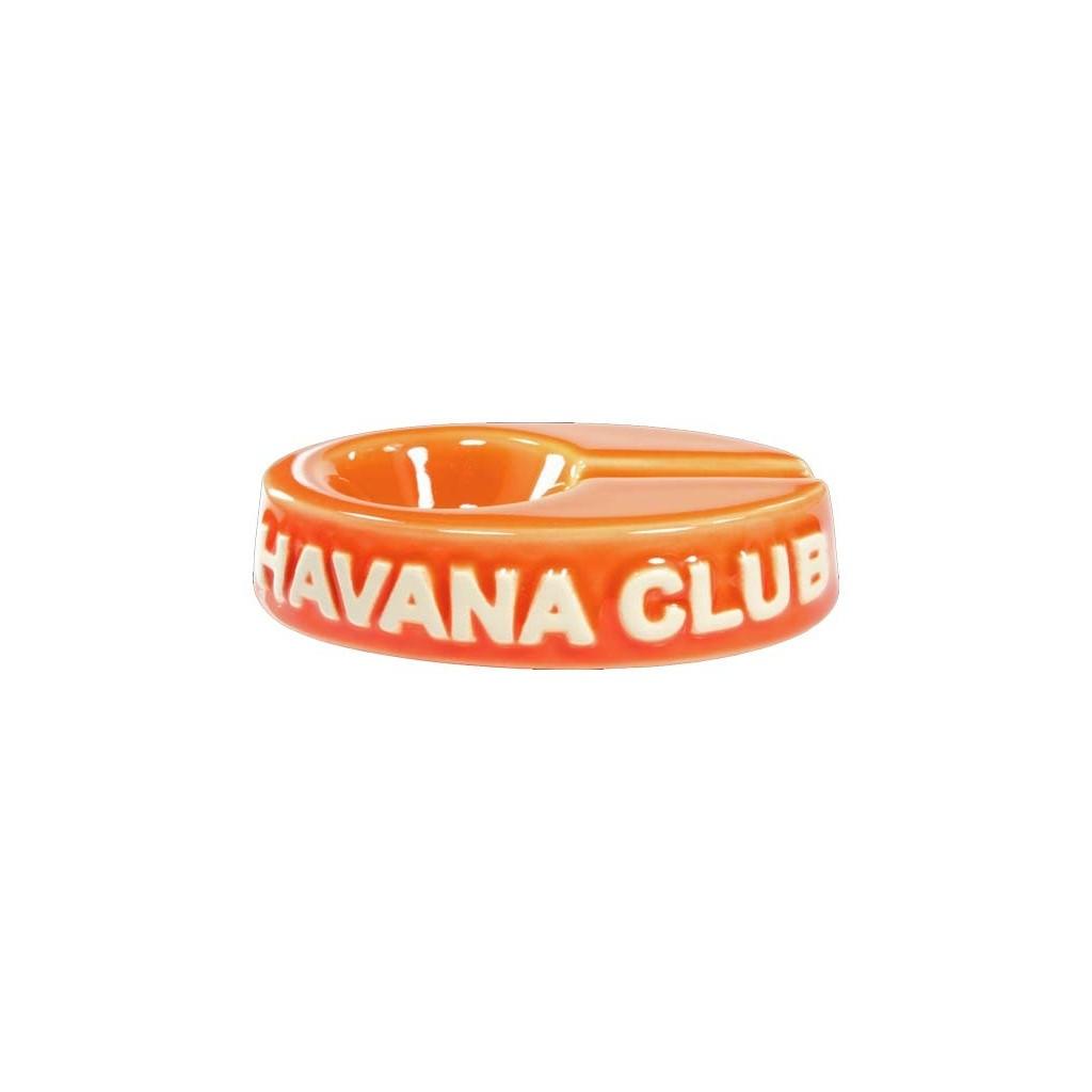 """Cendrier pour cigare Havana Club """"El Chico"""" de céramique - Madarine Orange"""