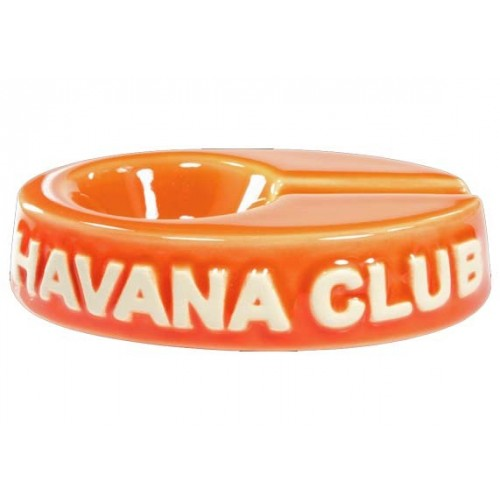 "Havana Club ""El Chico"" ceramic cigar ashtray - Madarine Orange"