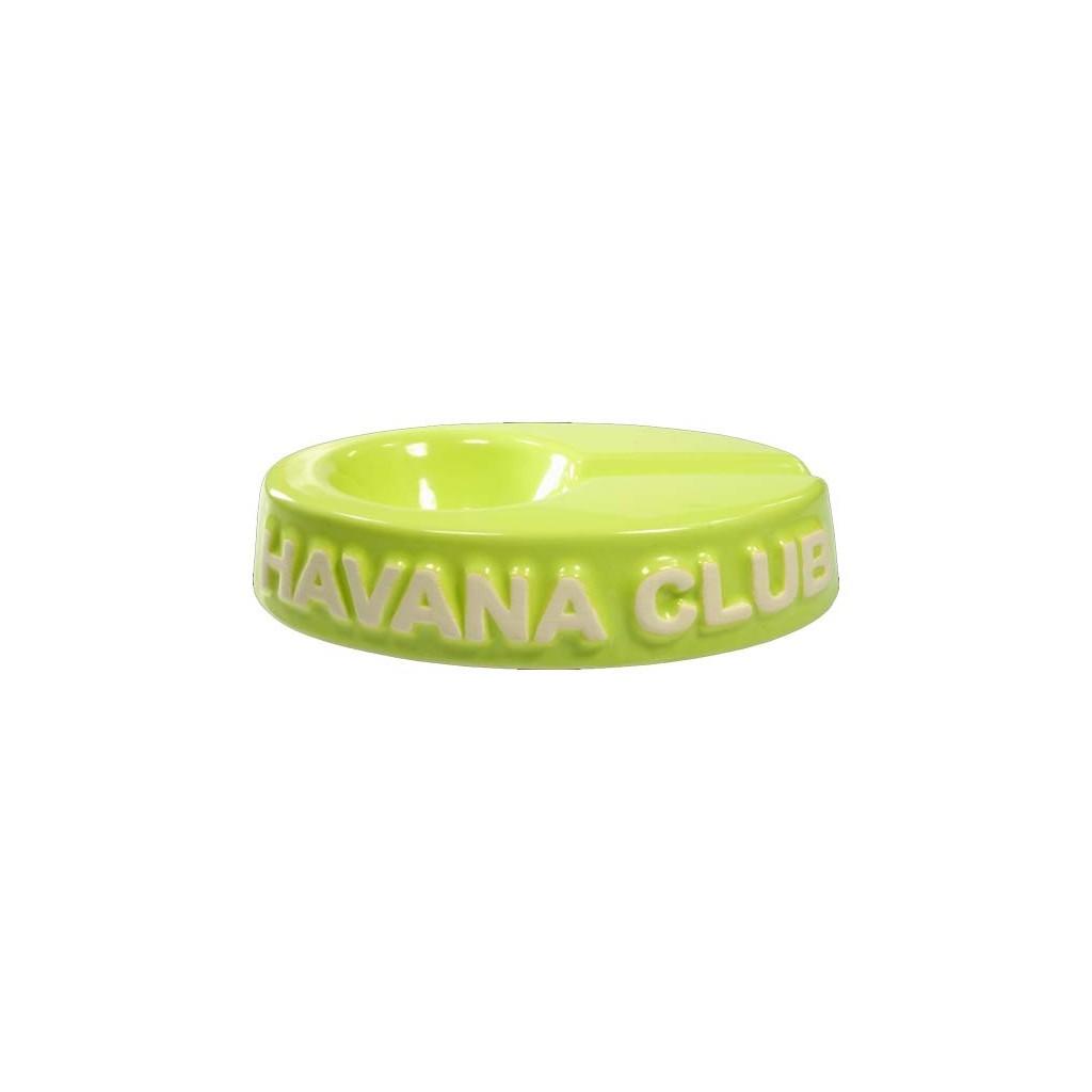 "Havana Club ""El Chico"" ceramic cigar ashtray - Fennel Green"