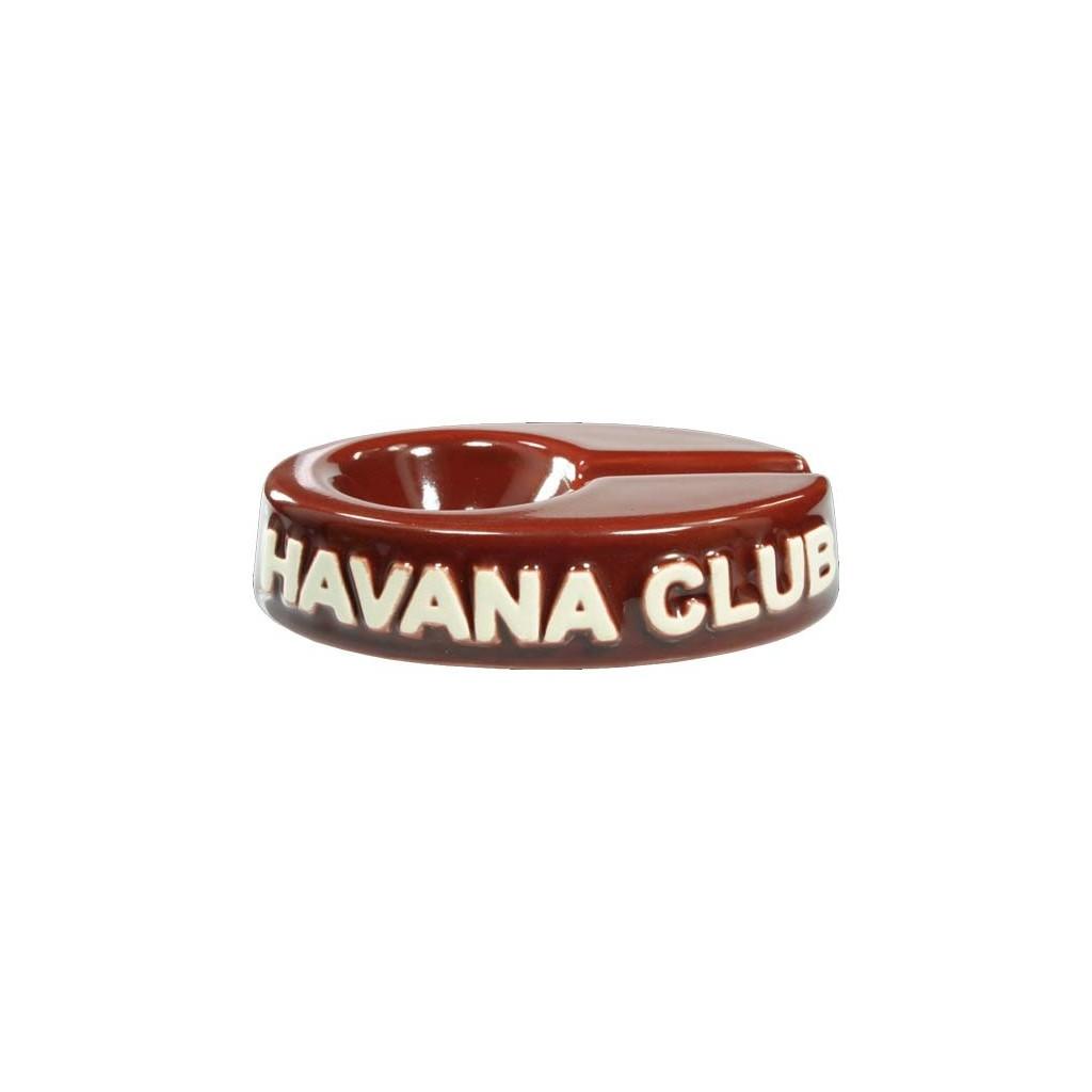 """Cendrier pour cigare Havana Club """"El Chico"""" de céramique - Bordeaux"""