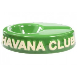 "Havana Club ""El Chico"" ceramic cigar ashtray - Bottle Green"
