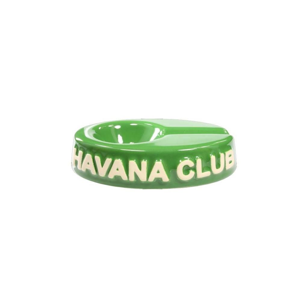 """Cendrier pour cigare Havana Club """"El Chico"""" de céramique - Bottle Green"""