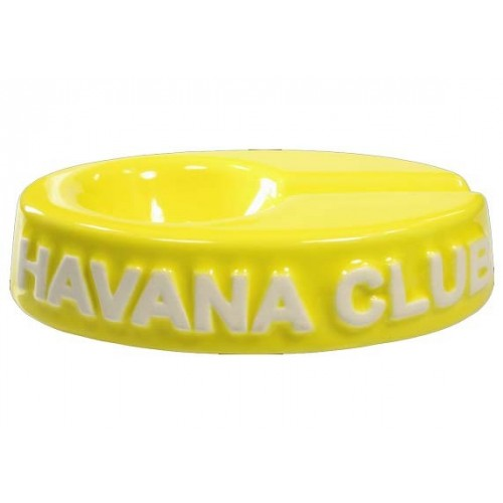 """Cendrier pour cigare Havana Club """"El Chico"""" de céramique - Lime Yellow"""