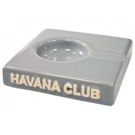 "Posacenere da tavolo Havana Club ""El Solito"" in ceramica - Grigio madre Perla"