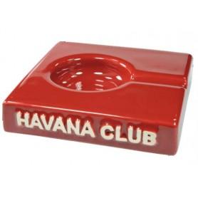 """Cendrier pour cigare Havana Club """"El Solito"""" de céramique - Vermillon Red"""