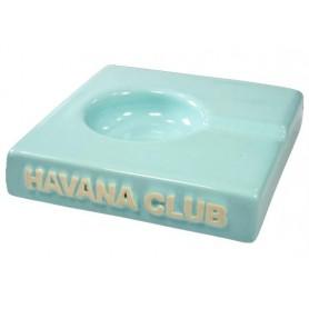 """Ceniceros por cigarro Havana Club """"El Solito"""" en cerámico - Carribean Blue"""