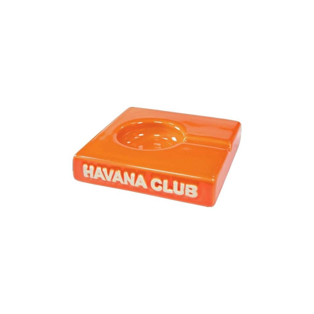 """Ceniceros por cigarro Havana Club """"El Solito"""" en cerámico - Mandarine Orange"""