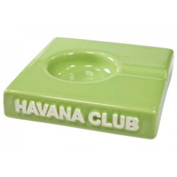 "Havana Club ""El Solito"" ceramic cigar ashtray - Fennel Green"