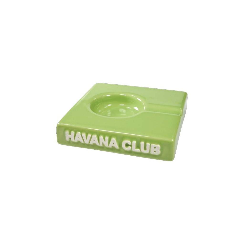 """Havana Club """"El Solito"""" ceramic cigar ashtray - Fennel Green"""