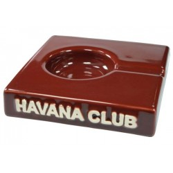 "Havana Club ""El Solito"" ceramic cigar ashtray - Bordeaux"