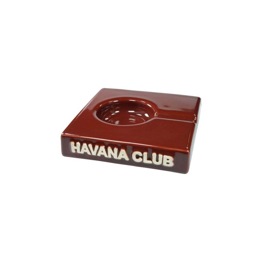 """Posacenere da tavolo Havana Club """"El Solito"""" in ceramica - Bordeaux"""